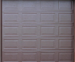 single aluzinc sectional blocks brown single garage doors67 garage
