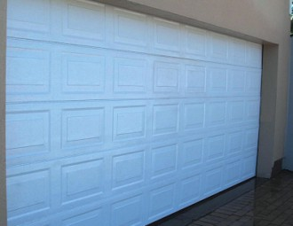 Double Aluzinc sectional (Blocks White) : sa doors - Pezcame.Com